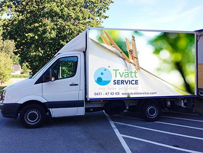 Lastbilsdekor Tvättservice