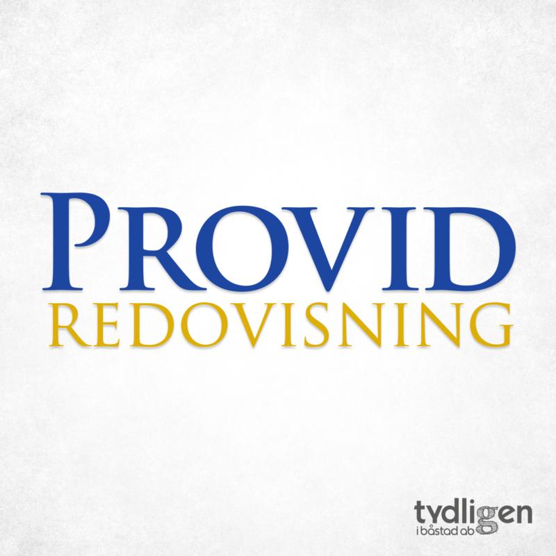 Logotyp Provid redovisning