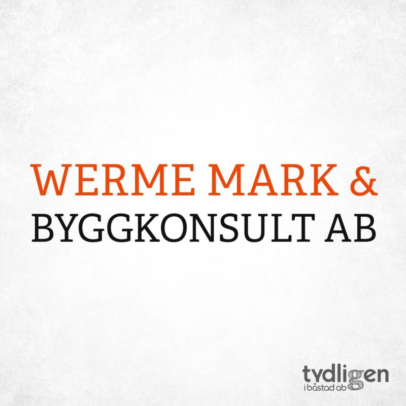 Logotyp Werme Mark & Byggkonsult